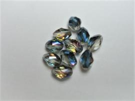 Vitrail Facet Kristal AB / 10 stuks / KD810
