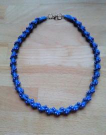 Spiraal Ketting met Miracle Beads -  Gemaakt door Sonja D.R.