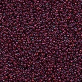 Miyuki Roc 11/0 nr 0313 - 10 grammes - Purple Cranberry Gold Luster