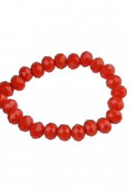 Fecettes Rouge-orange  6x5mm / 50 pcs/ KD19323