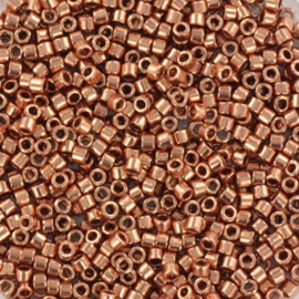 Miyuki Delica  11/0 Nr DB-40 - 5 gram - Plated copper
