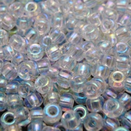 Miyuki Rocaille 8/0 Nr 0250 - 10 gram / Transparant ab crystal