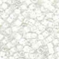 Miyuki Delica 11/0 nr DB-0066 - 5 grammes - White lined crystal ab