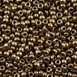 Miyuki Rocaille 8/0 Nr 0457 - 10 gram / Mettalic darc bronze