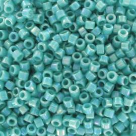Miyuki Delica 11/0 nr DB-0166 - 5 grammes - Opaque Turquoise AB
