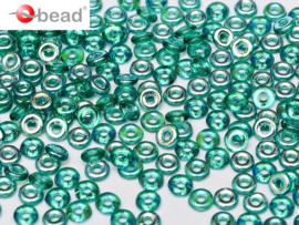 O bead Emerald AB / 5 grammes / KD60019