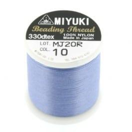 Miyuki Fil Nylon Beading thread B  - Blue - 50 mètres - Nr 10