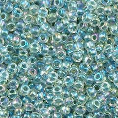 Miyuki Roc  8/0  nr 0263 - Crystal seafoam lined / 10 grammes