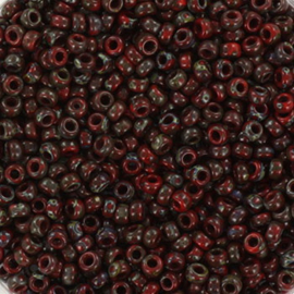 Miyuki Rocaille  11/0  - Nr 4513  - 10 gram - Opaque picasso red