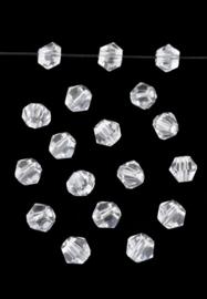 Kit Collier - Nino  - Nr 870 - Lavender -  Blanc - Toupies Crystal