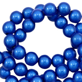 Miracle Beads  4mm Cobalt blue / 350 stuks / KD47401