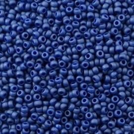 Miyuki Roc 11/0 nr 2075 - 10 grammes - Cobalt Matte Opaque Luster