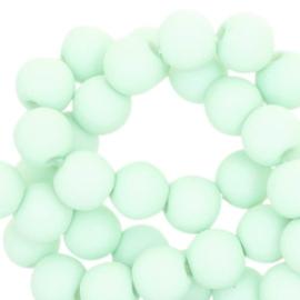 6mm Pastel  Turquoise - 50 stuks / KD42856