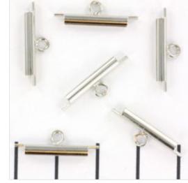 Slide end Tubes 15mm /4 stuks / KD724