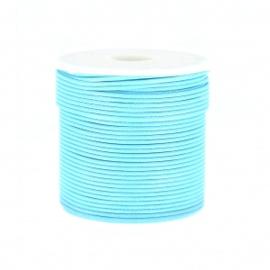 Polyester Koord Lichtblauw 1,5 mm / Ca9 meter / KD446