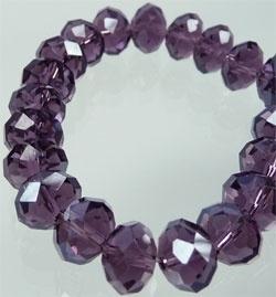 Facettes Cristal Violet 10x8mm / 10 pcs/ KD04266