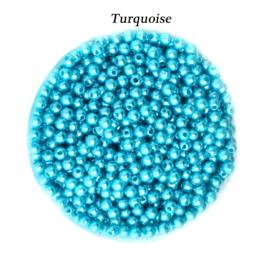 4mm Turquoise / 200 stuks  / KD24042