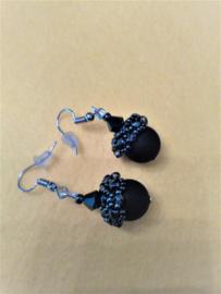 Oorbellen gemaakt door Sonja D.R.