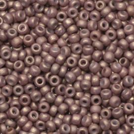 Miyuki Roc 11/0 nr 2027 - 10 grammes  / Opaque matte dusty mauve
