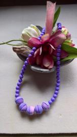 Collier perles Fimo fait par Christa