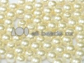 Cream 4mm / 120 stuks / KD720