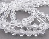 Facettes Cristal ovale 6x8mm / 25 pcs / KD672