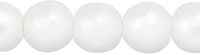 Wit Pearl Coat Snow 4mm / 100 stuks / KD846