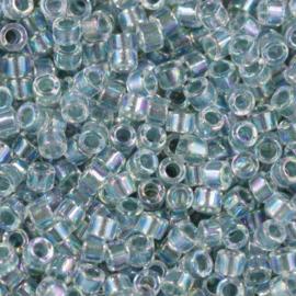 Miyuki Delica 11/0 nr  DB-84 - 5 gram - Inside dyed sea foam