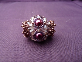 Kathy - Sparkling Beaded Bead