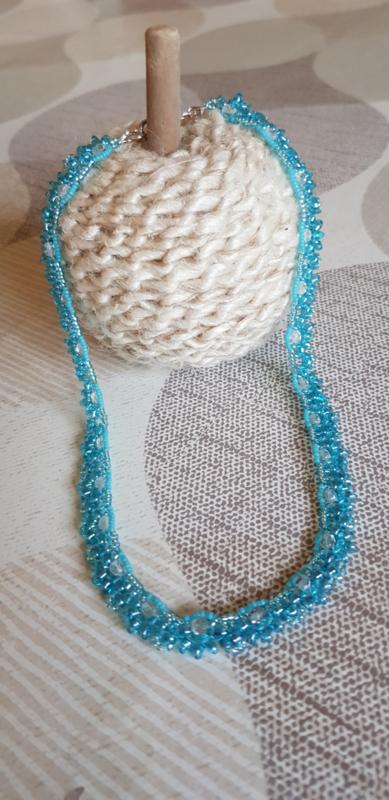 Halsketting Lilly gemaakt door Christa