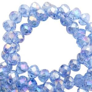 Saphire blauw 6x4mm / 100 stuks / KD46784