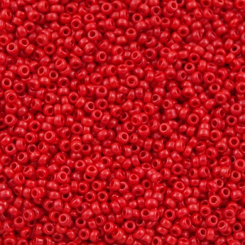 Miyuki Rocaille 11/0 Nr 0408 - 10 gram / Opaque Red