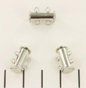 Magnetische sluiting met 2 oogjes / Per stuk / KD011