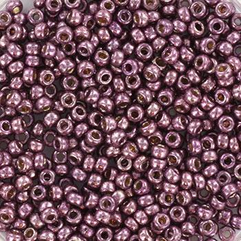 Miyuki Rocaille  11/0  Nr 4220 - 10 gram / Duracoat galvanized eggplant
