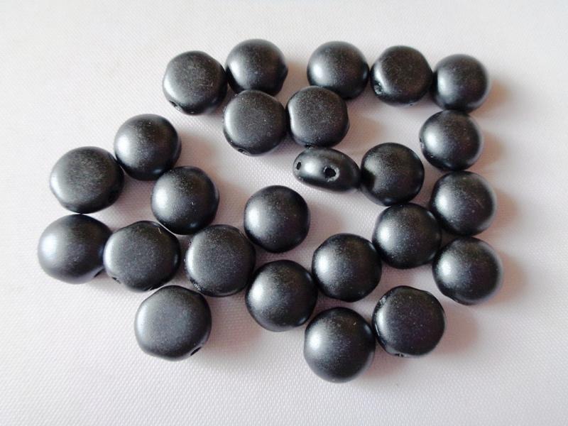 Candy mat crystal ab 8 mm / 50 pcs / KD13975