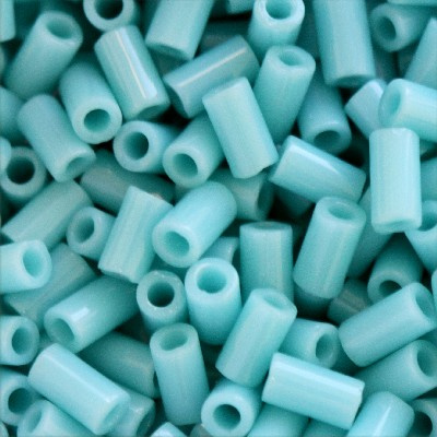 Toho Bugle tubes 3mm - 10 grammes - Opaque turquoise - KD11569