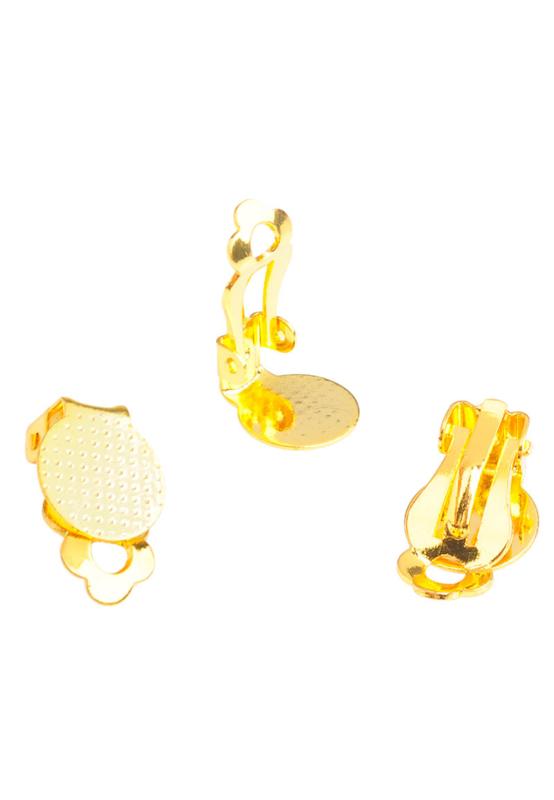 Clip oorbellen  16x10mm / Per paar / KD26714