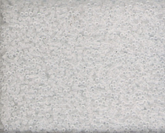 Miyuki Delica 11/0  Nr  DB-741- 5 gram - Crystal Matted Transparant