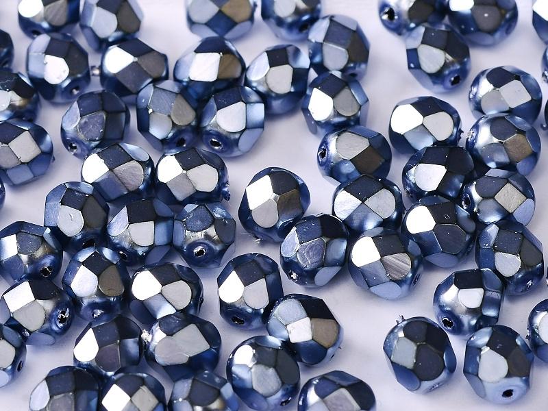 Facettes brillante 3 mm Métal Persian Bleu / 100 pcs / KD61011