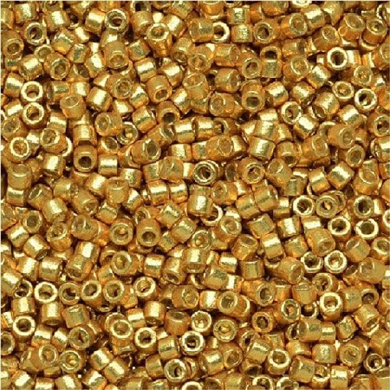 Miyuki Delica 11/0 nr DB-1832 - 5 grammes - Duracoat galvanized gold