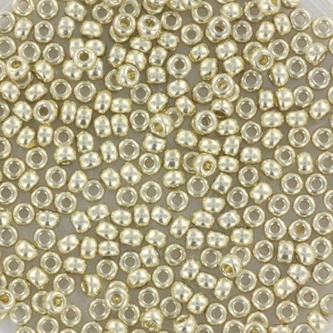 Miyuki Roc 11/0 nr 4201 - 10 grammes - Duracoat galvanized silver