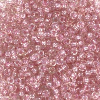 Miyuki Rocaille 11/0 -  Nr 3639 -  10 grammes - Fancy lined soft pink 3639