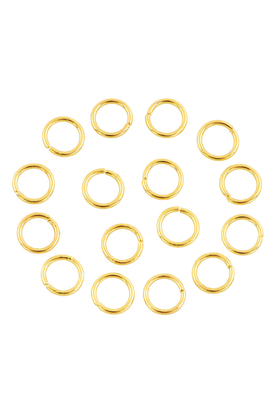 Anneaux Or 4mm  / 100 pièces / KD61382