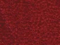 Miyuki roc 8/0 nr 0141F - 10 grammes - Matte transparent red