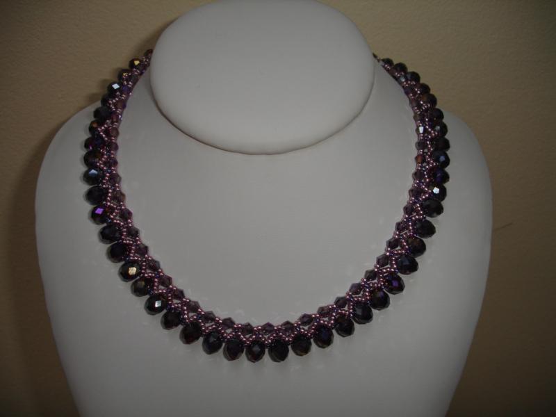 Kit Collier  Nino  - Nr 1148 - Violetes - Toupies