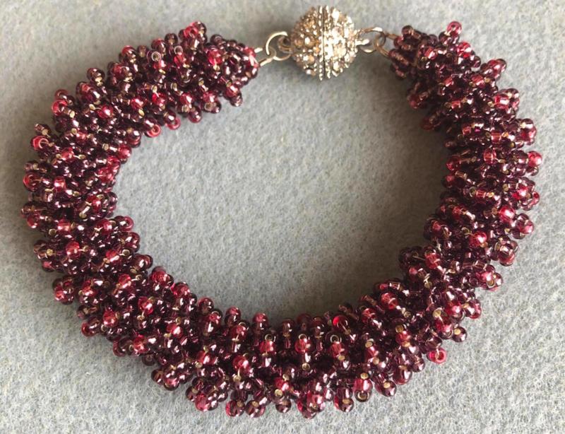 Armband gemaakt door Ingrid