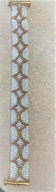 Armband Annabelle gemaakt door Jacqueline V.