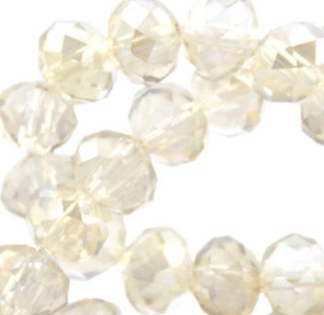 Silk rose - Diamond 4x3mm / ± 150 stuks / KD26094