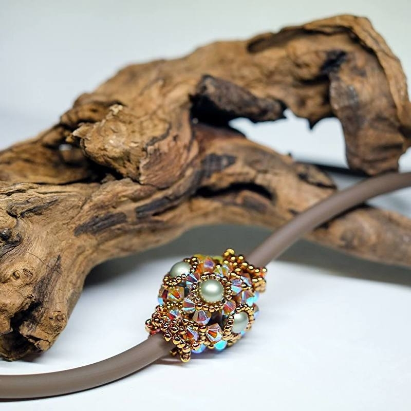 Sparkling Beaded Bead