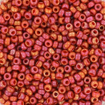 Miyuki Rocaille  11/0  - Nr  4695 - 10 gram - Frosted rainbow cardinal